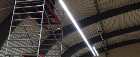 LED-armaturen-in-sporthal